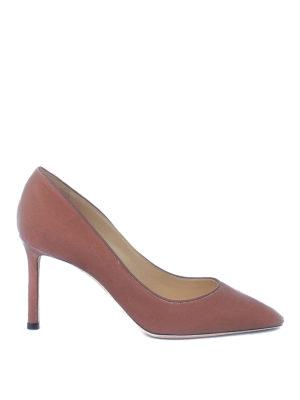 Jimmy Choo: court shoes - Romy 85 pumps in velvet