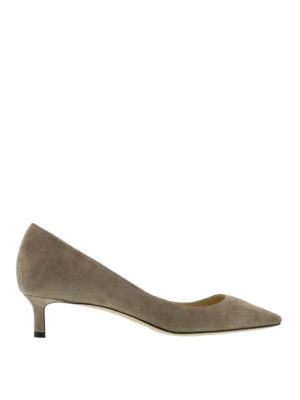 Jimmy Choo: court shoes - Romy suede court shoes