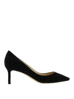 Jimmy Choo: court shoes - Romy suede pumps