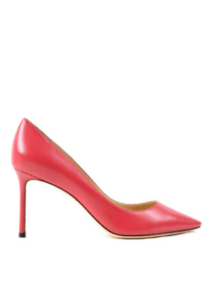 Jimmy Choo: court shoes - Roomy 85 leather pumps