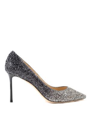 Jimmy Choo: court shoes - Shaded glittered pumps