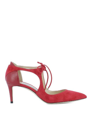 Jimmy Choo: court shoes - Vanessa 65 suede pumps