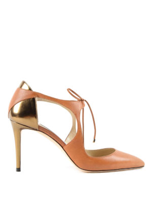 Jimmy Choo: court shoes - Vanessa 85 lace-up court shoes