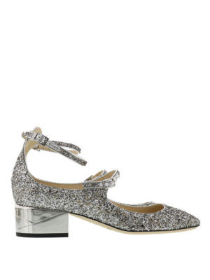 Jimmy Choo: court shoes - Wilbur glitter pumps