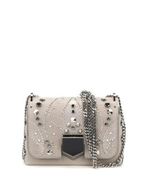 Jimmy Choo: cross body bags - Lockett Petite embellished bag