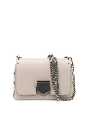 Jimmy Choo: cross body bags - Lockett Petite leather bag