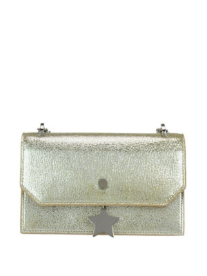 Jimmy Choo: cross body bags - Serena star charm cross body bag