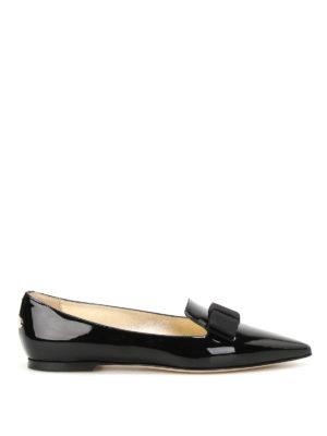 Jimmy Choo: flat shoes - Gala patent leather flats