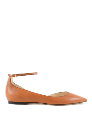Jimmy Choo: flat shoes - Lucy Flat ballerinas with strap
