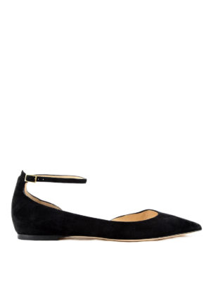 Jimmy Choo: flat shoes - Lucy suede flats