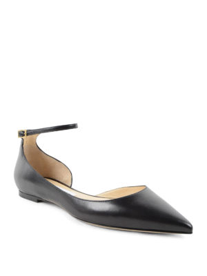 Jimmy Choo: flat shoes online - Lucy suede flats