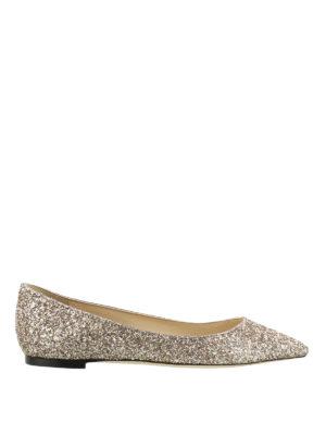 Jimmy Choo: flat shoes - Romy Flat romantic ballerinas