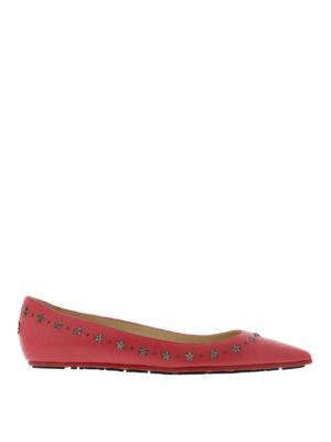 Jimmy Choo: flat shoes - Windsor star embellished flats