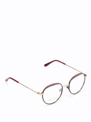 Jimmy Choo: glasses - Micro studded glasses