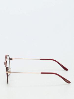 Jimmy Choo: glasses online - Micro studded glasses