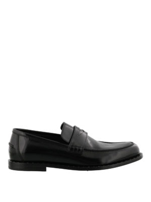 Jimmy Choo: Loafers & Slippers - Darblay loafers with micro studs
