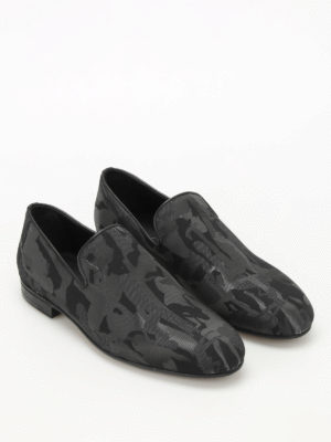 Jimmy Choo: Loafers & Slippers online - Sloane embossed pattern loafers