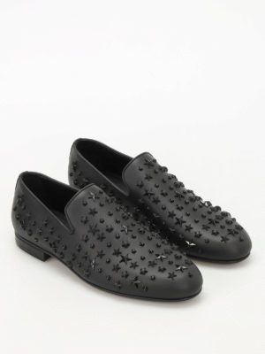 Jimmy Choo: Loafers & Slippers online - Sloane studded leather loafers