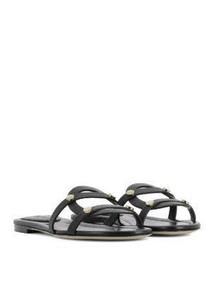 e5a4a3a076e JIMMY CHOO  sandali online - Ciabattine Damaris in pelle