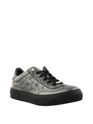 JIMMY CHOO: sneakers online - Sneaker Ace metallizzate con stelle