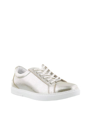 JIMMY CHOO: sneakers online - Sneaker Cash color champagne