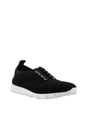JIMMY CHOO: sneakers online - Sneaker Jenson in suede e rete