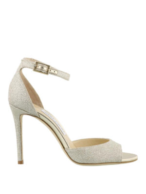 Jimmy Choo: sandals - Annie 100 glitter sandals