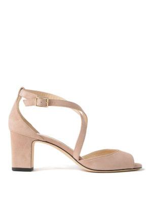 Jimmy Choo: sandals - Carrie 65 ballet suede sandals