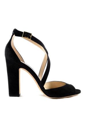 Jimmy Choo: sandals - Carry elegant suede sandal