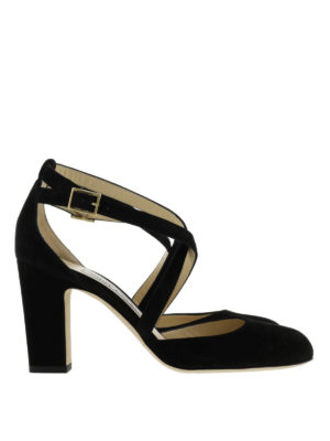 Jimmy Choo: sandals - Cleo suede sandals