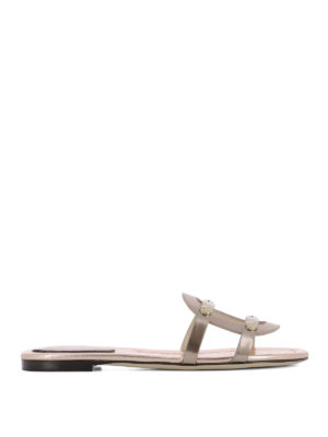 Jimmy Choo: sandals - Damaris leather sandals