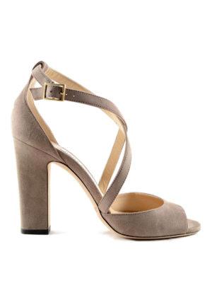 Jimmy Choo: sandals - Elegant suede sandal