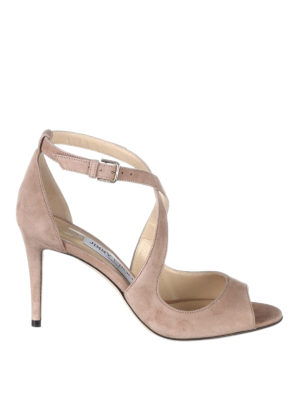 Jimmy Choo: sandals - Emily 85 peep toe sandals