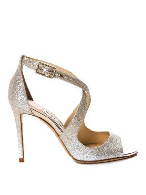 Jimmy Choo: sandals - Emily glitter sandals