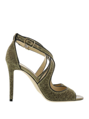 Jimmy Choo: sandals - Emily glitter sandals