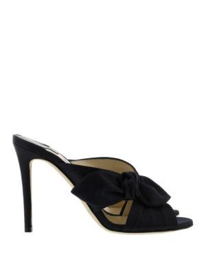 Jimmy Choo: sandals - Keely satin sandals