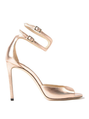Jimmy Choo: sandals - Lane 100 leather sandals
