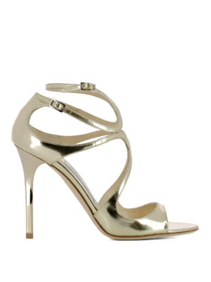 Jimmy Choo: sandals - Lang leather sandals