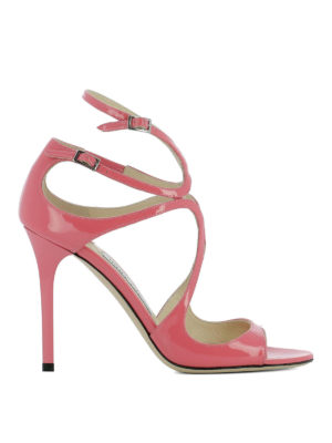 Jimmy Choo: sandals - Lang patent leather sandals