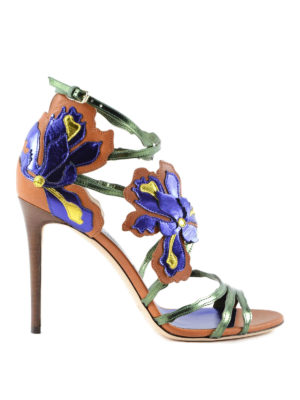 Jimmy Choo: sandals - Lolita 100 leather sandals