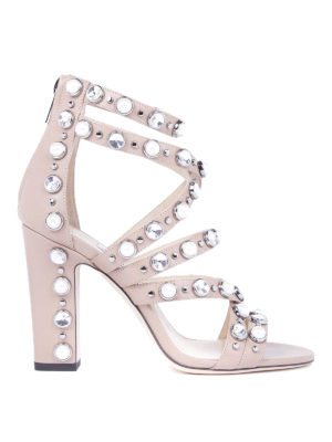 Jimmy Choo: sandals - Moore 100 leather sandals