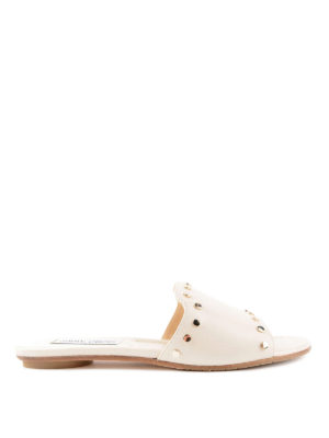 Jimmy Choo: sandals - Nanda studded leather sliders