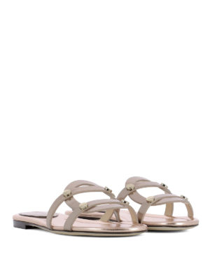 Jimmy Choo: sandals online - Damaris leather sandals