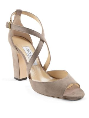 Jimmy Choo: sandals online - Elegant suede sandal