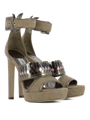 Jimmy Choo: sandals online - Kathleen platform sandals