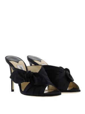 Jimmy Choo: sandals online - Keely satin sandals