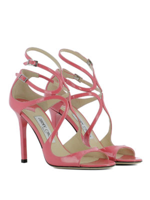 Jimmy Choo: sandals online - Lang patent leather sandals