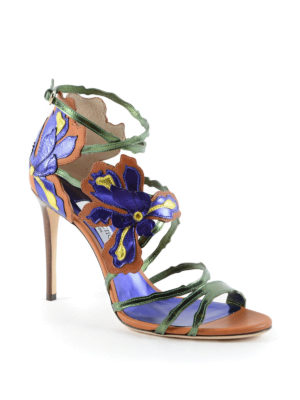 Jimmy Choo: sandals online - Lolita 100 leather sandals
