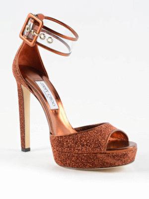 Jimmy Choo: sandals online - Mayner 130 lurex sandals