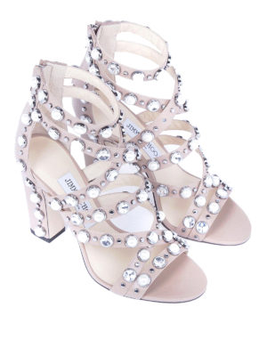 Jimmy Choo: sandals online - Moore 100 leather sandals